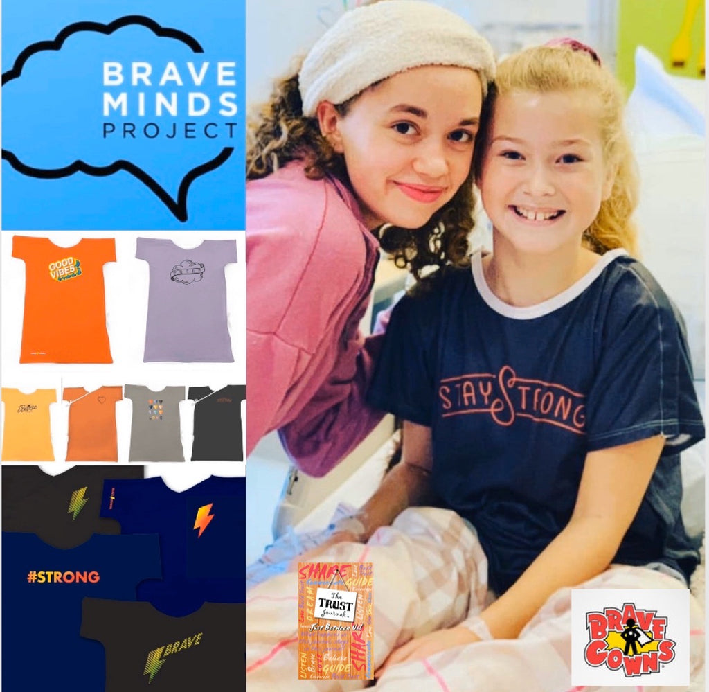 "Please Help ""Brave Minds"" Bring ""Brave Gowns"" To Teens Newly Diagnosed With An Illness"