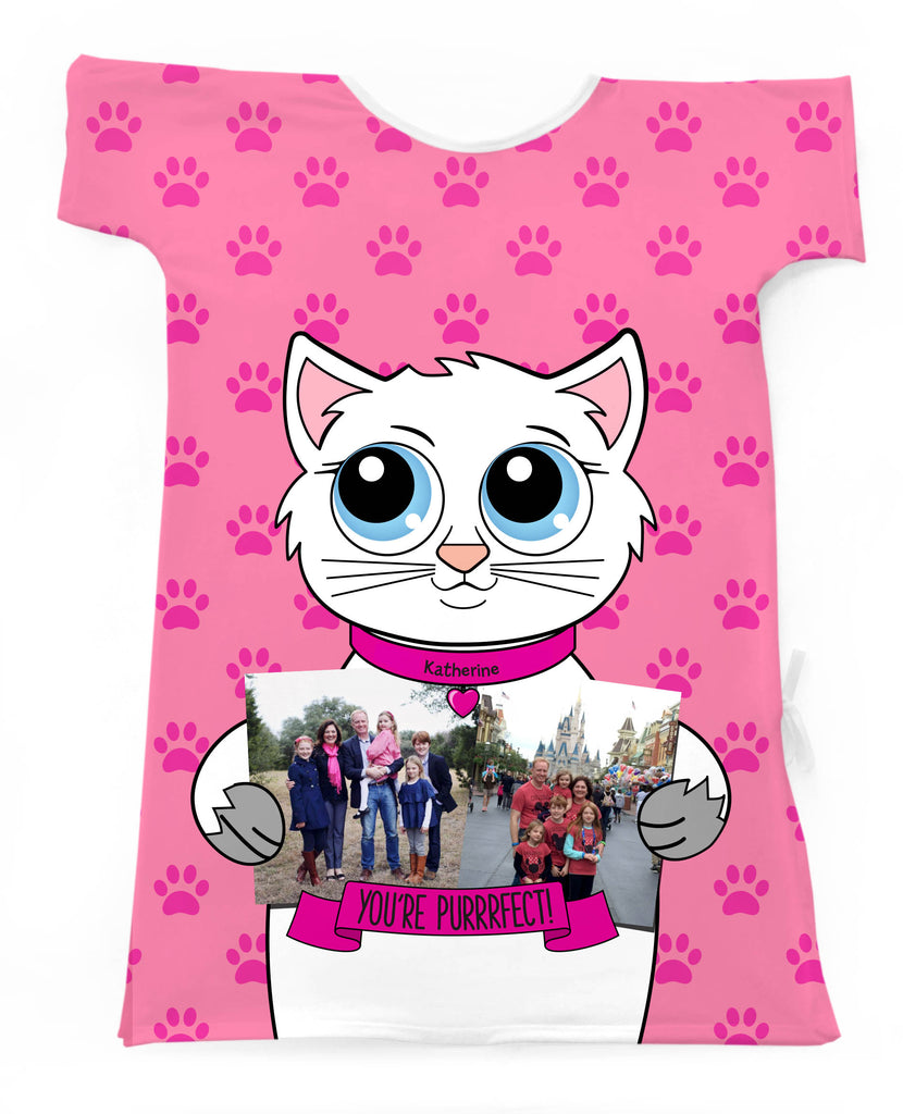 KITTY TEMPLATE- Create Your Own Special Gown