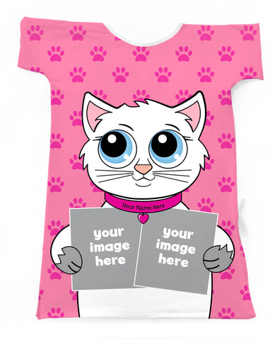 A Kitty Template- Create Your Own Special Gown