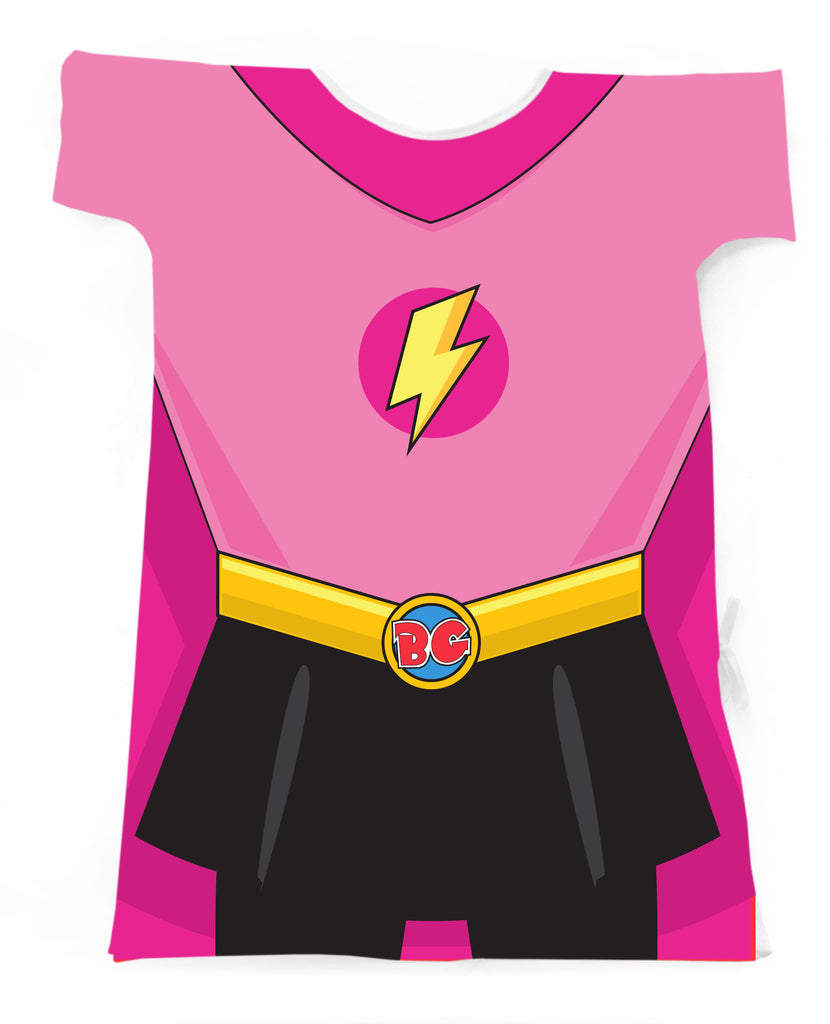 A PRETTY IN PINK SUPERGIRL