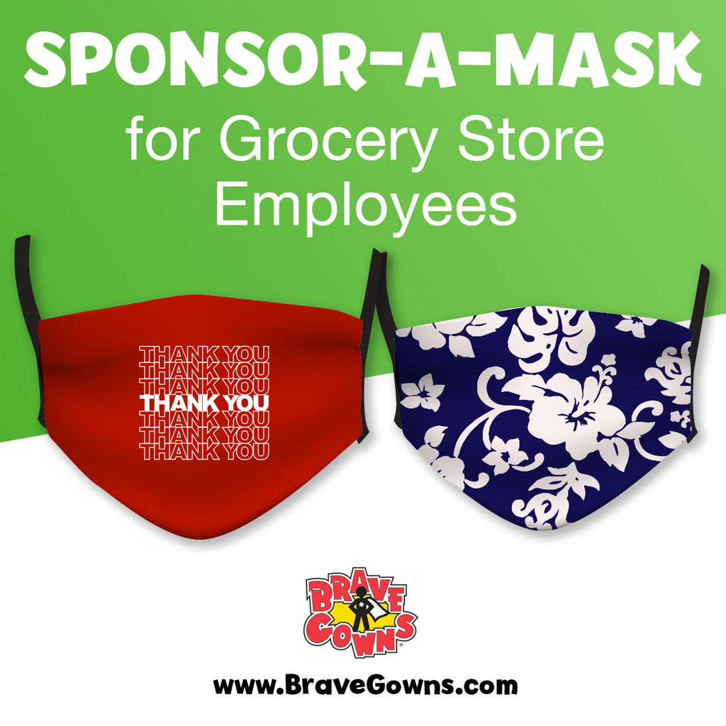 SPONSOR A MASK FOR OUR ESSENTIAL WORKERS