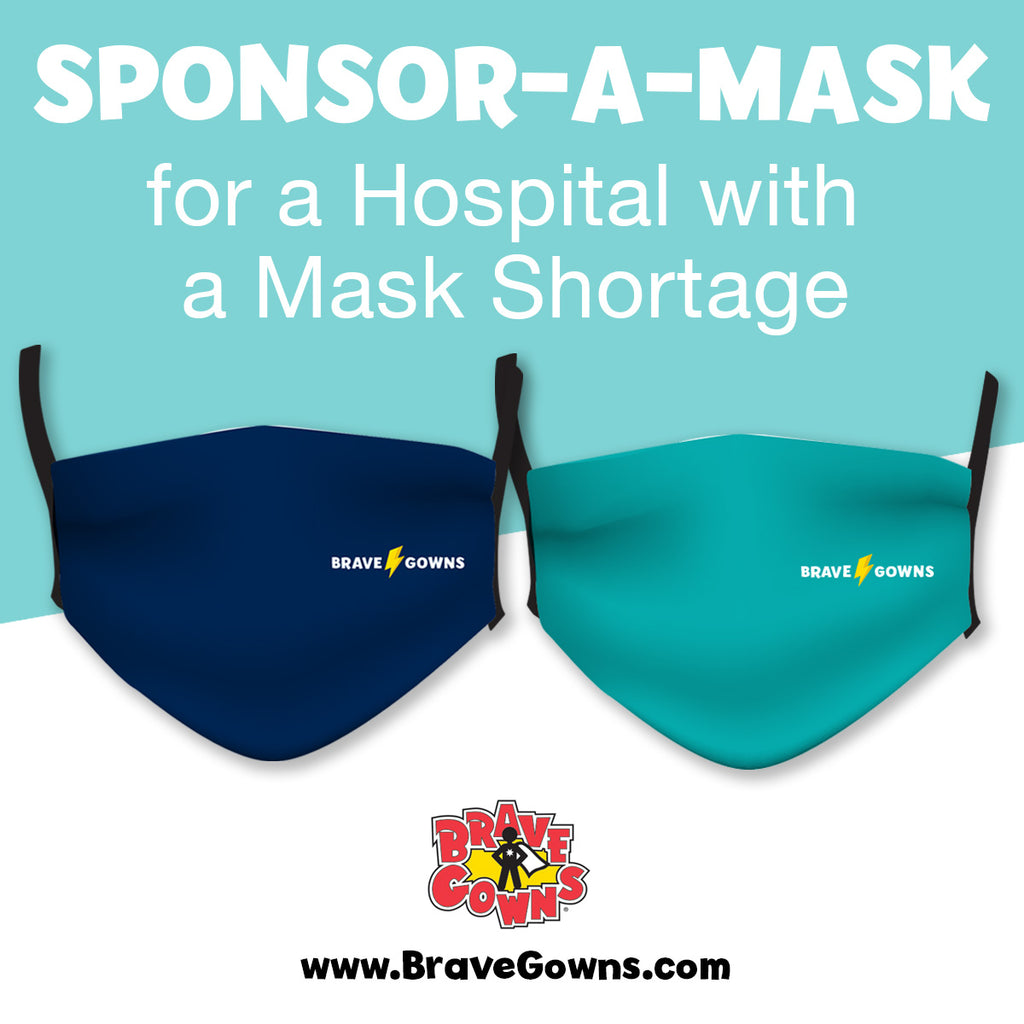 SPONSOR A MASK FOR CHILDREN'S HOSPITAL OF ORANGE COUNTY