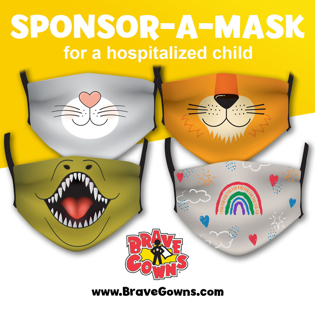 SPONSOR A MASK WITH THE DANCING DOC TO SPREAD JOY TO HOSPITALIZED CHILDREN