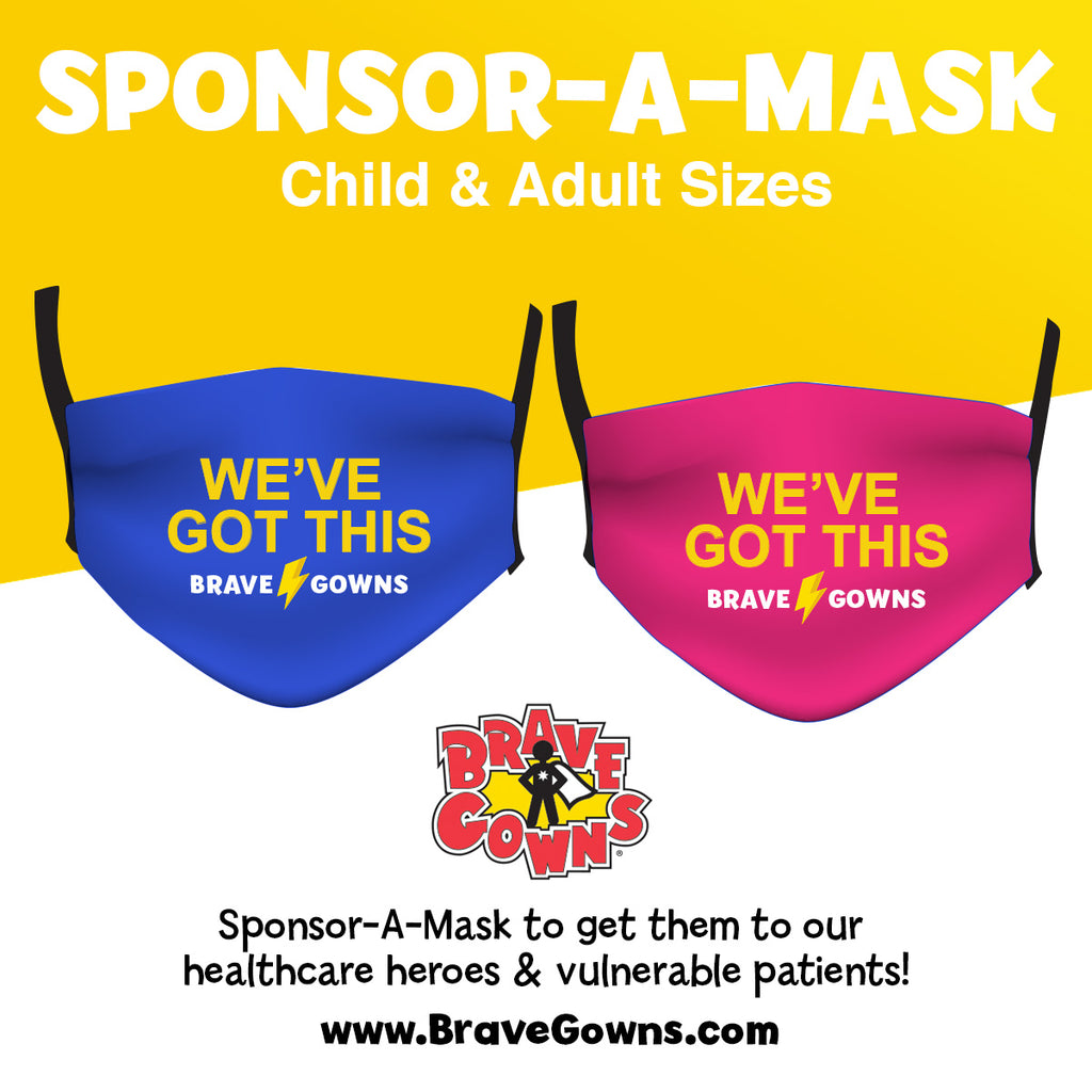 SPONSOR A MASK FOR HEALTH CARE WORKERS ON THE FRONTLINE WITH MARGARET JOSEPHS