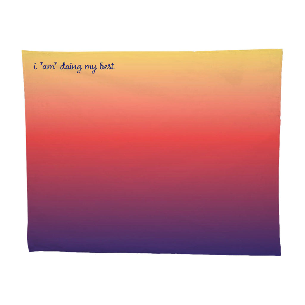 SUNSET THROW BLANKET