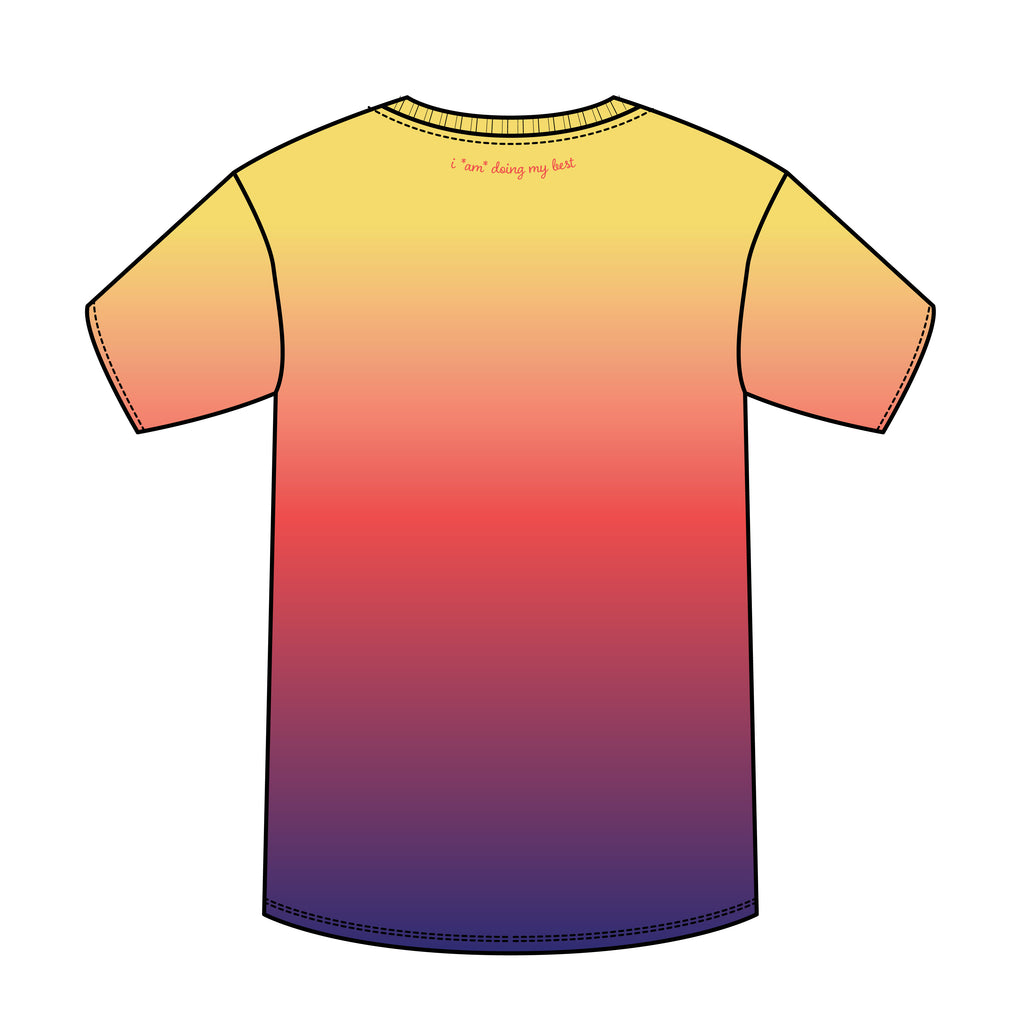 SUNSET CREW NECK T-SHIRT