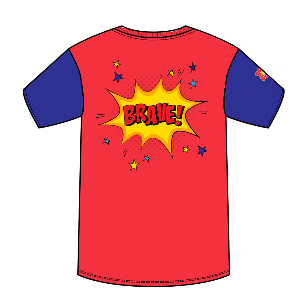 BRAVE SUPERHERO T-SHIRT