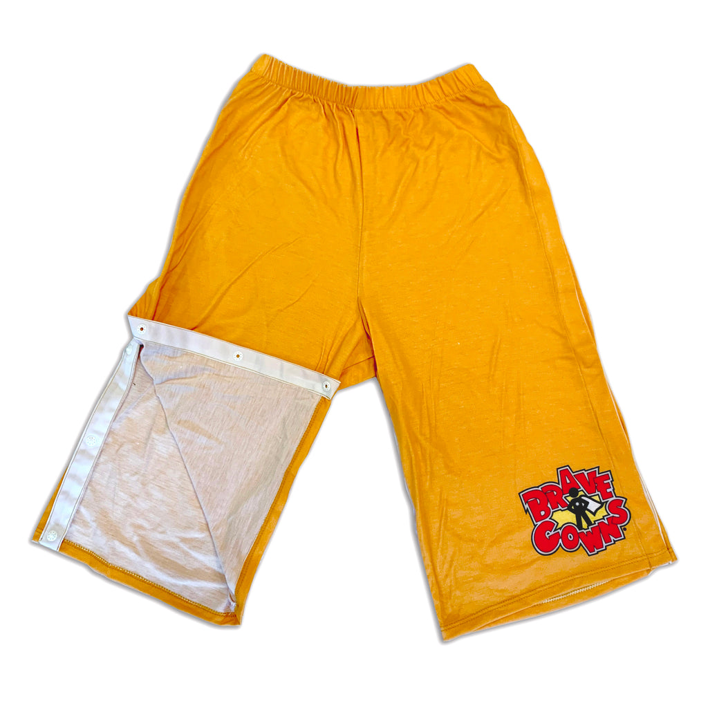 THE BRAVE PANTS-GOLD-SIZE 4