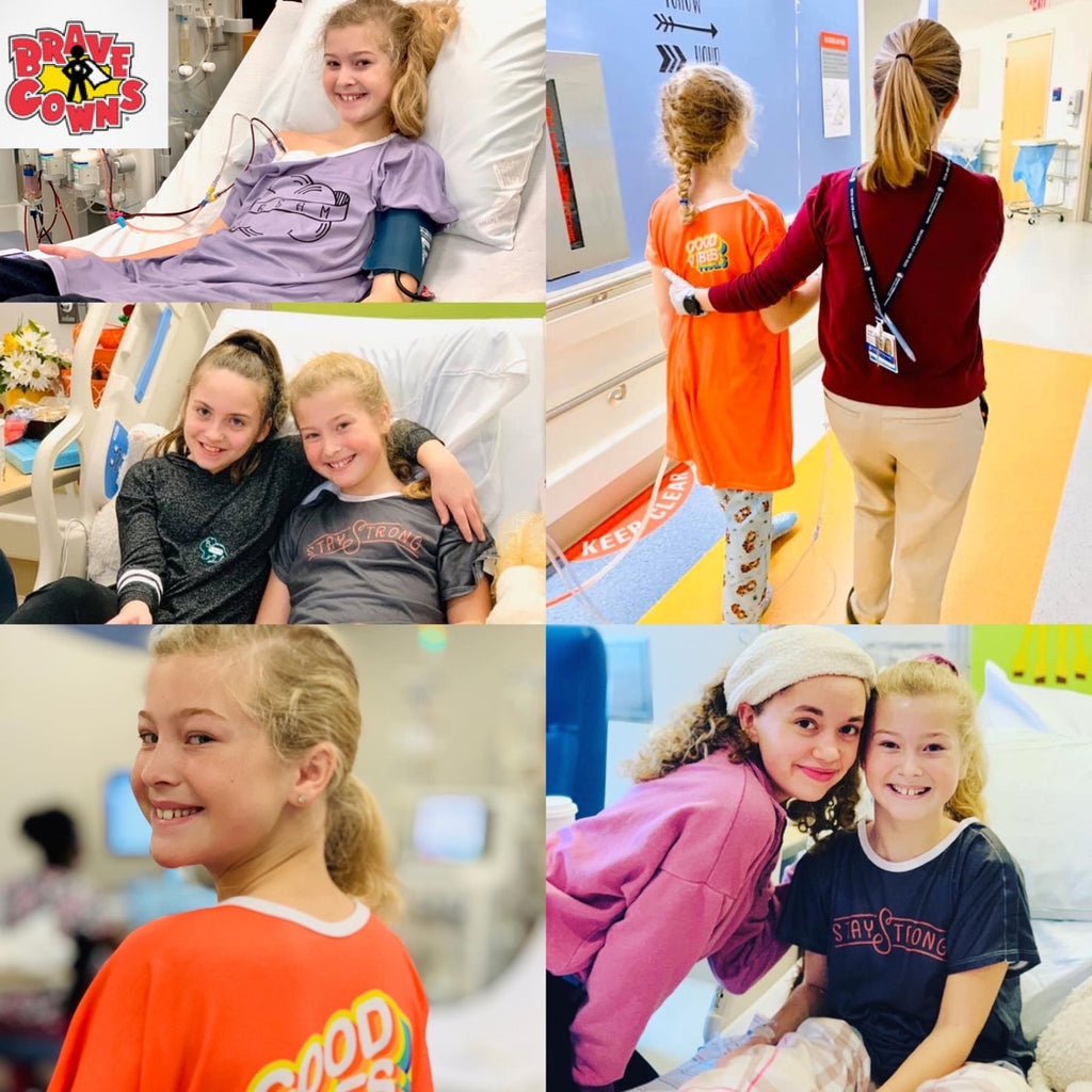 "Please Help Avery's Fight Bring Normalcy,  Confidence & ""Brave Gowns "" To Nemours Children's Hospital"