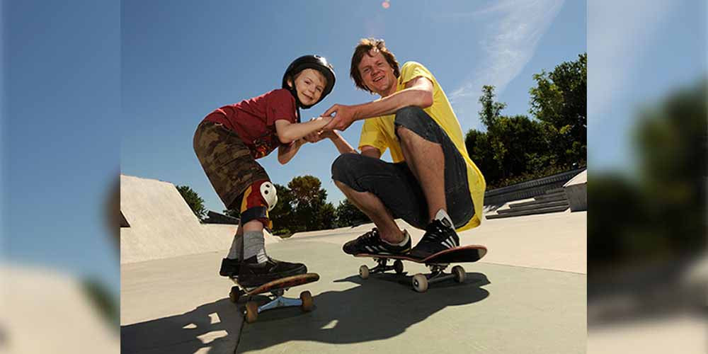 practice skateboarding safely
