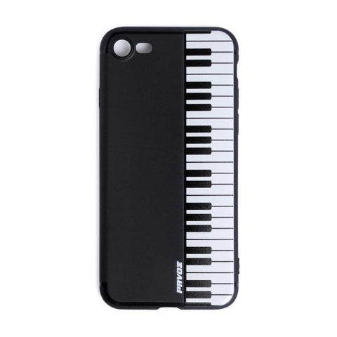 Hard Plastic Case For iPhone 7 Piano