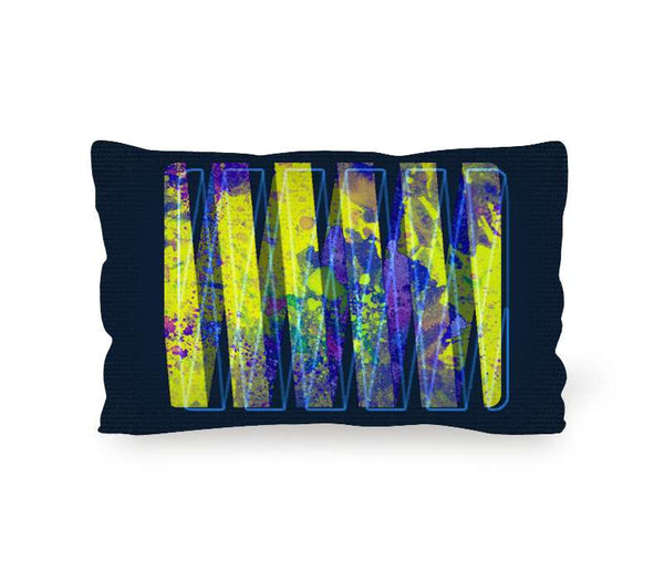 Personalized Throw Pillow High Quality Cushion Lumbar 20X12 Inch - Pavoz