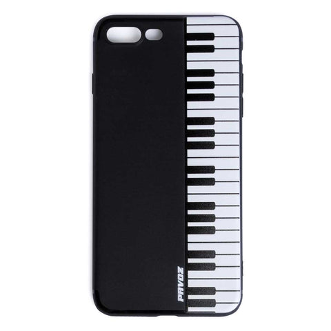 Hard Plastic Case For iPhone 7 plus Piano