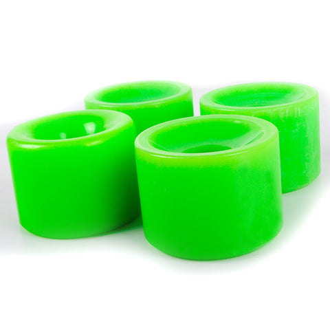 Longboard Wheels For Speed 70mm 82A Green Color - Pavoz