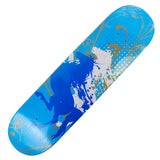 Skateboard Deck Graphics White Horses 32X8