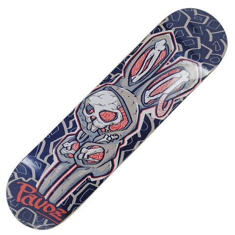 Skateboard Deck Designs Red Bunny Hand Painted Deck 32X8