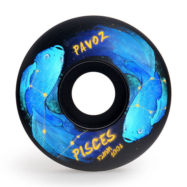Skateboard Wheels For Street 52mm 100A Set Pisces Easy Custom