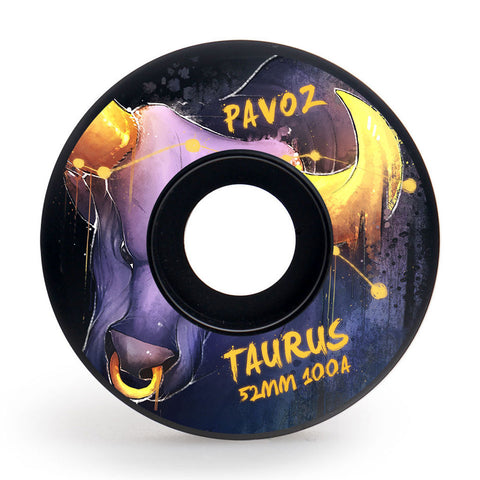 Skateboard Wheels Brands Pavoz 52mm 100A Set Taurus Easy Custom