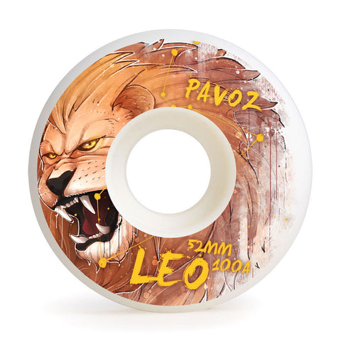 Skateboard Wheels For Sale 52mm 100A Set Leo Easy Custom