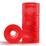 Longboard Wheels On Skateboard 70mm 82A Red