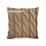 Throw Pillow High Quality Cushion 45x45 Sweater Included Inner Pack Easy Custom