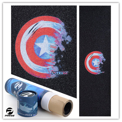 Pro Grip Tape Patterns 2.0 American Shield - Pavoz