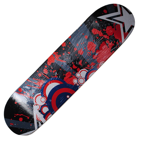 Skateboard Deck Graphics Bubble Star Hand Painted Deck 32X8 - Pavoz