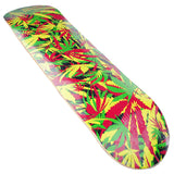 Skateboard Deck Graphics Maple Leaves Hand Painted Deck 32X8