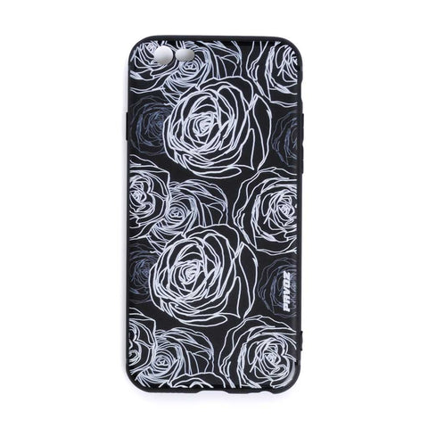Personalized Hard Plastic Case For iPhone 6/6s Rose - Pavoz