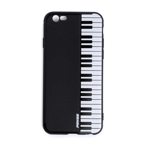 Personalized Hard Plastic Case For iPhone 6/6s Piano - Pavoz