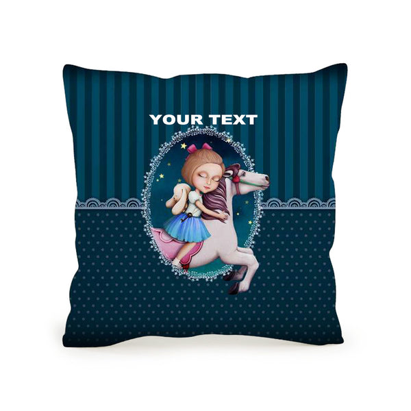 Throw Pillow High Quality Cushion 45x45 Sofia Whirligig Included Inner Pack Easy Custom