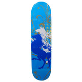 Skateboard Deck Art White Horses 32X8 - Pavoz