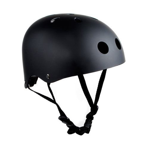 Classic Bike/Skate/Skateboard/Multi Sport Black Helmet High Quality Helmet - Pavoz
