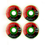 Top Quality Skateboard Wheels 52mm 100A  Mask Green - Pavoz
