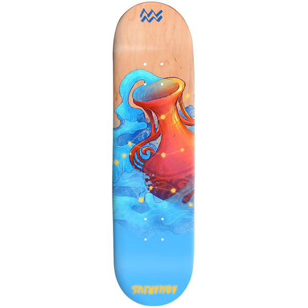 Skateboard Deck Design Your Own Hand Painted Deck Aquarius 32X8 Easy Custom