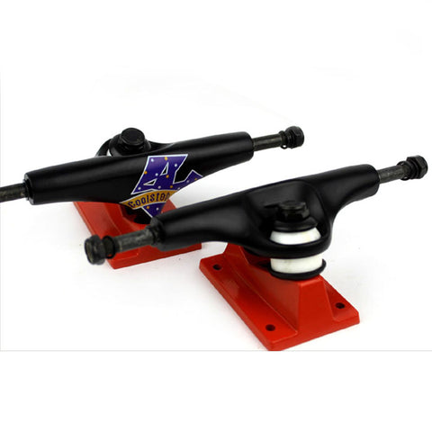 Skateboard Trucks Quality 7.5 Mid Profile Black Magic 1 Pair