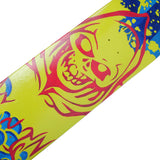 Skateboard Deck Designs Skull Green Hand Painted Deck 32X8