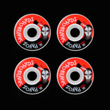 Skateboard Wheels Quiet 52mm 100A  Mask White - Pavoz