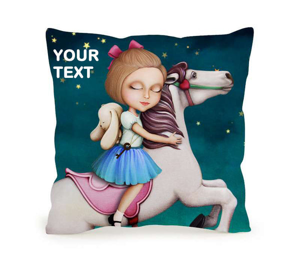 Throw Pillow Printing Cushion 45x45 Sofia Whirligig 2 Included Inner Pack Easy Custom
