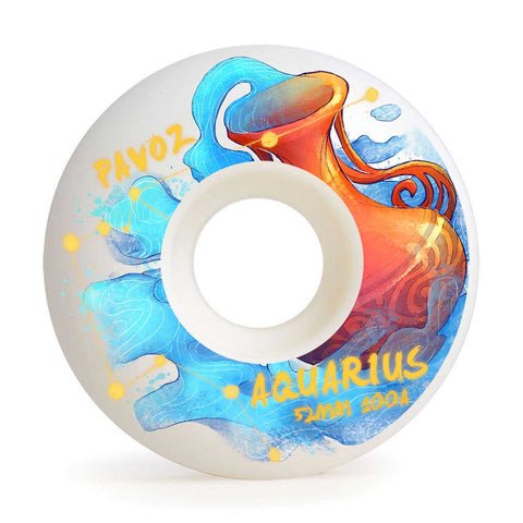 Skateboard Wheels Brands Pavoz 52mm 100A Set Aquarius Easy Custom