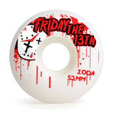 skateboard wheels graphics inside 52mm 100A Set Blind Monkey 13th Easy Custom