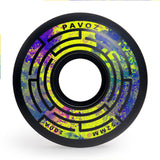 Skateboard Wheels Brands Pavoz 52mm 100A  Maze 2 Black