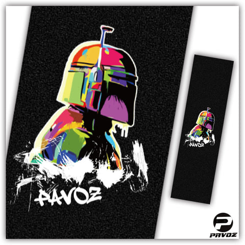 Pro Grip Tape Patterns Boba - Pavoz