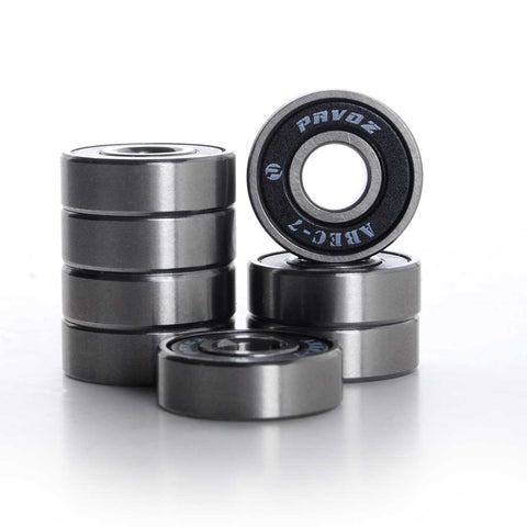 Best Skateboard Bearings ABEC-7 High Quality Silver - Pavoz