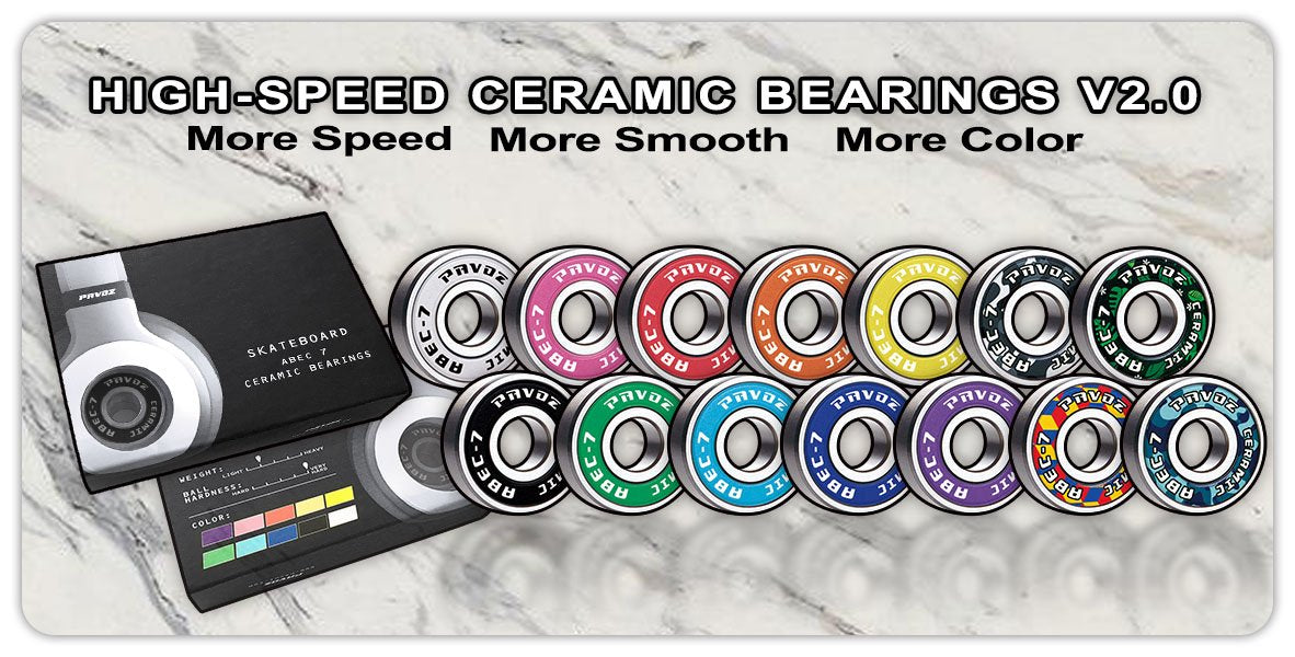 Pavoz Cerammic Bearings V2.0