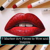 7 Marker Art Pieces to Wow and Inspire