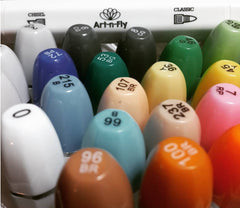 Art-n-Fly sketch markers for sketching illustration
