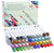 48 Brush Nib Markers - Dual Tip Sketch Markers with Blender Marker