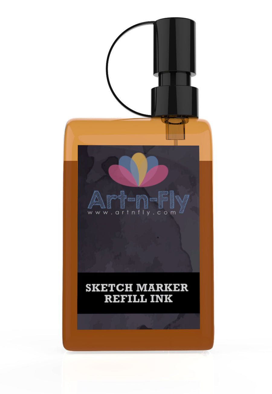 Art-n-Fly alcohol sketch marker ink refill