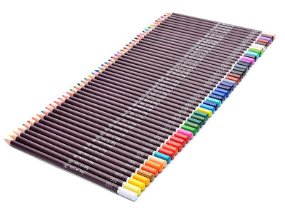 Artist grade oil based color pencils for drawing coloring illustration